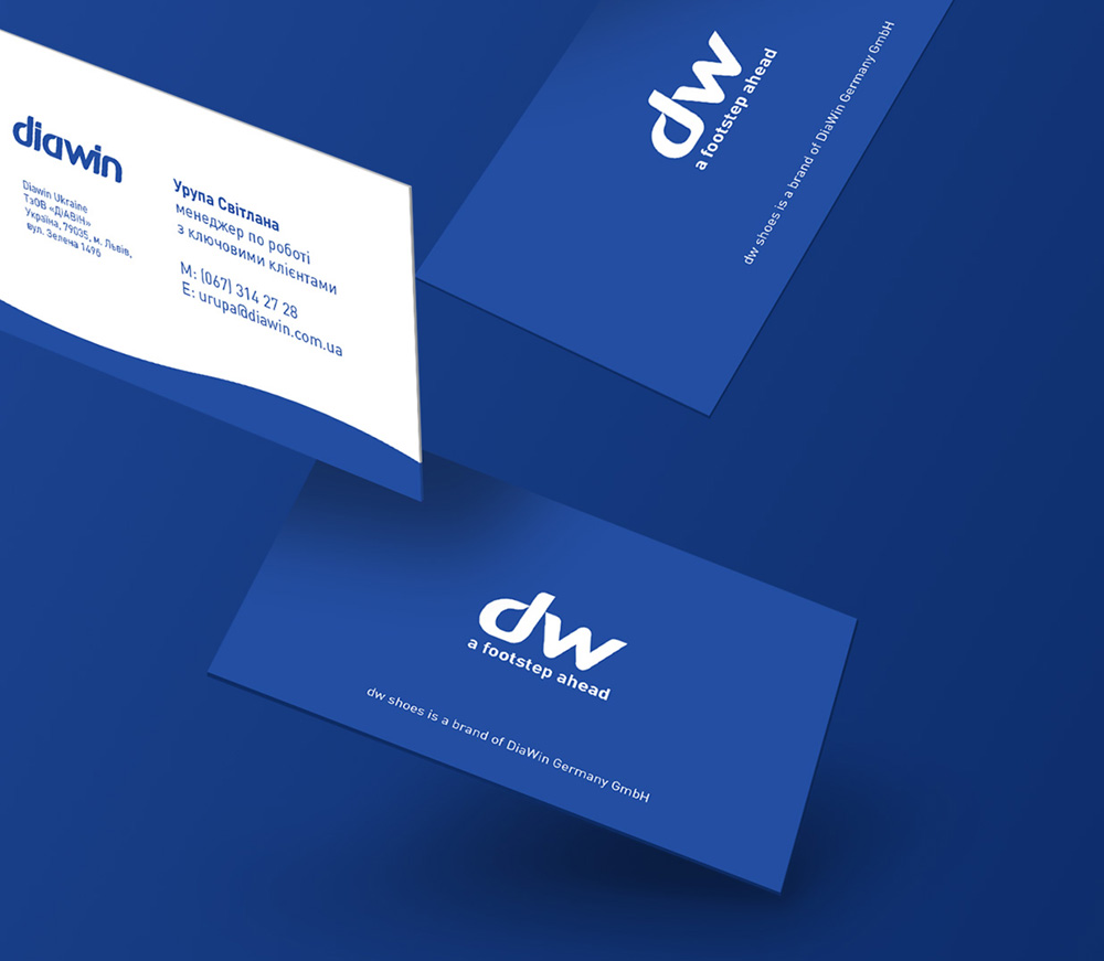 Diawin business cards