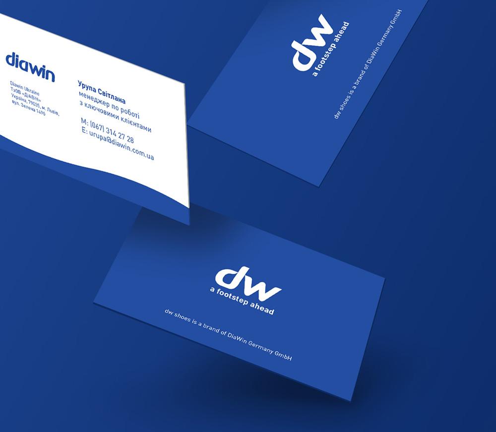 Diawin business cards